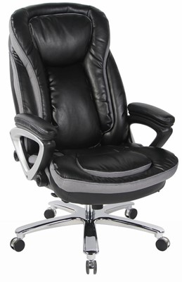 VIVA OFFICE Leather Executive Chair - office chair for heavy person