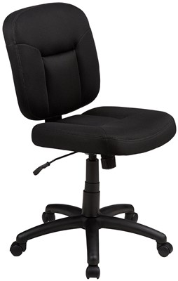 AmazonBasics Low-Back Task Chair - best office chair with lumbar support