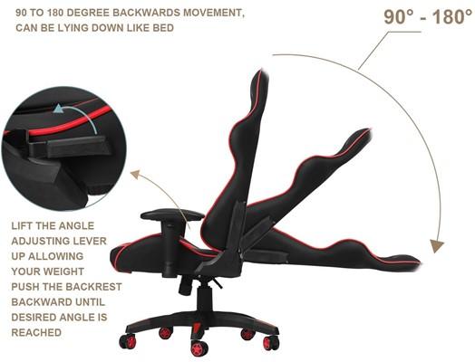 Merax Gaming Chair Review - cheap pc gaming chai