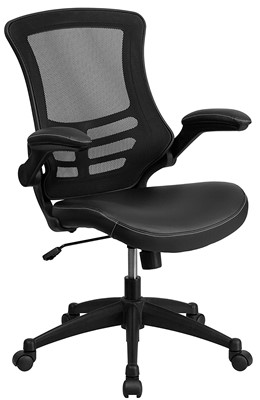 Flash Furniture Mid Back Chair - ergonomic office chair for short person