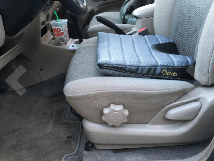 Clever Yellow Car Seat Cushion for long trip Reviews