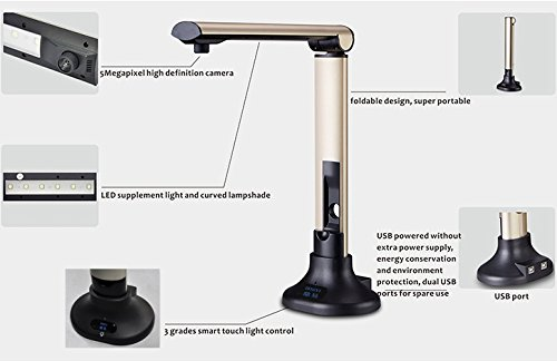 DINGYI USB Overhead Document Camera Reviews Amazon