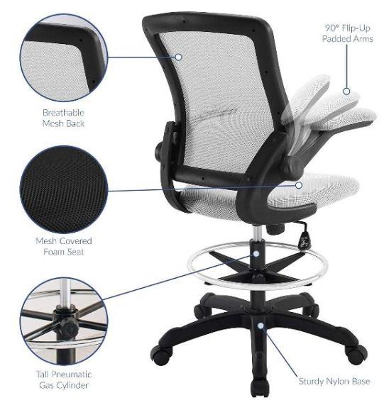 Miraculous 5 Best Ergonomic Drafting Chair For Standing Desk 2019 Inzonedesignstudio Interior Chair Design Inzonedesignstudiocom
