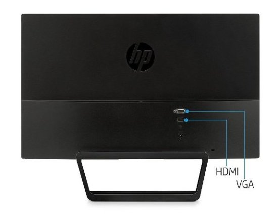 Connectivity and Packaging-HP 22cwa LED Monitor Review