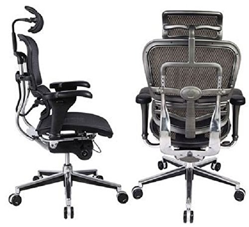 Ergohuman High Back Swivel Chair -Top 10 Best Office Chairs Reviews for Tall People Amazon