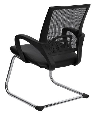 Flash Furniture CP-D119A01-BK-GG Chair-Top 10 Best Visitor Chair Reviews for Office Amazon