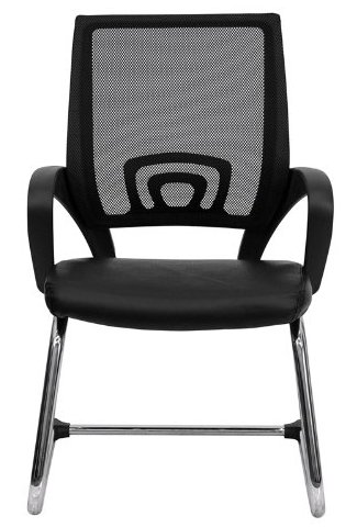 Flash Furniture CP-D119A01-BK-GG Chair-Top 10 Best Visitor Chair Reviews for Office