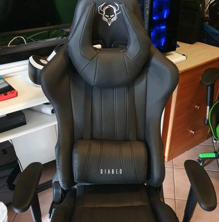 Diablo X-one horn deuxième du top 3 fauteuil gamer pas cher