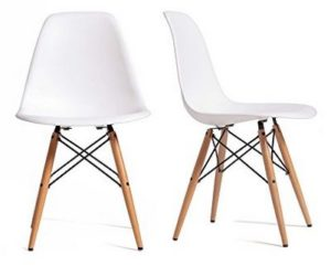 chaise scandinave eames dsw