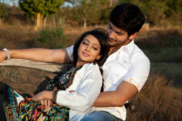 Diganth with Aindrita Ray