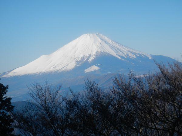 令和元年最後の富士山