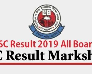 JSC Result 2019 full Marksheet