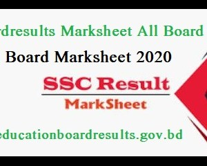 eboardresults marksheet