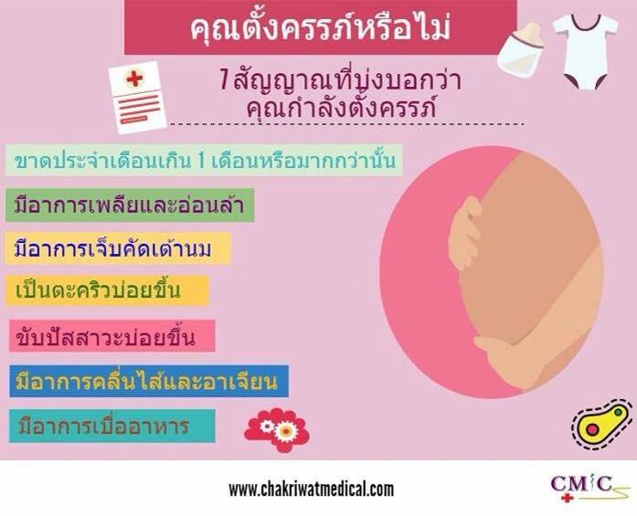 pregnancy Thai