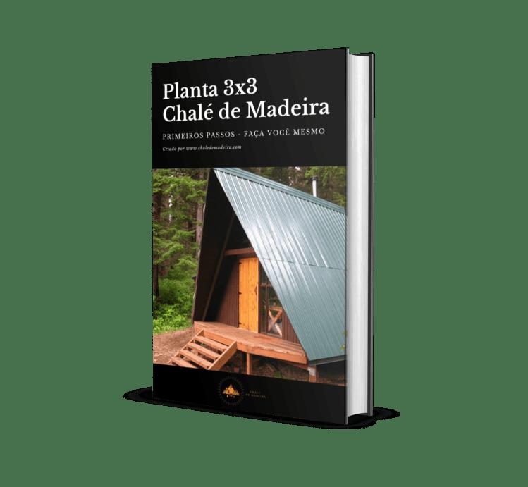 capa do eBook chalé de madeira barato