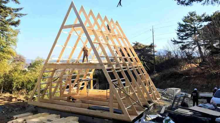 vantagens do telhado de chalé