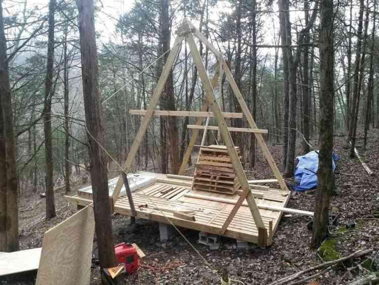 como construir um chalé de madeira 5