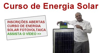 curso energia solar banner