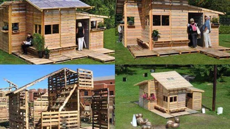 Foto mostrando construções de casa diy: casa de madeira pega fogo e precisam de proteção nesse caso