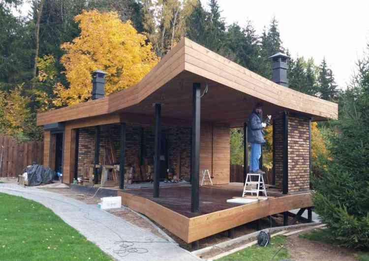 casa pré-moldada em madeira 1