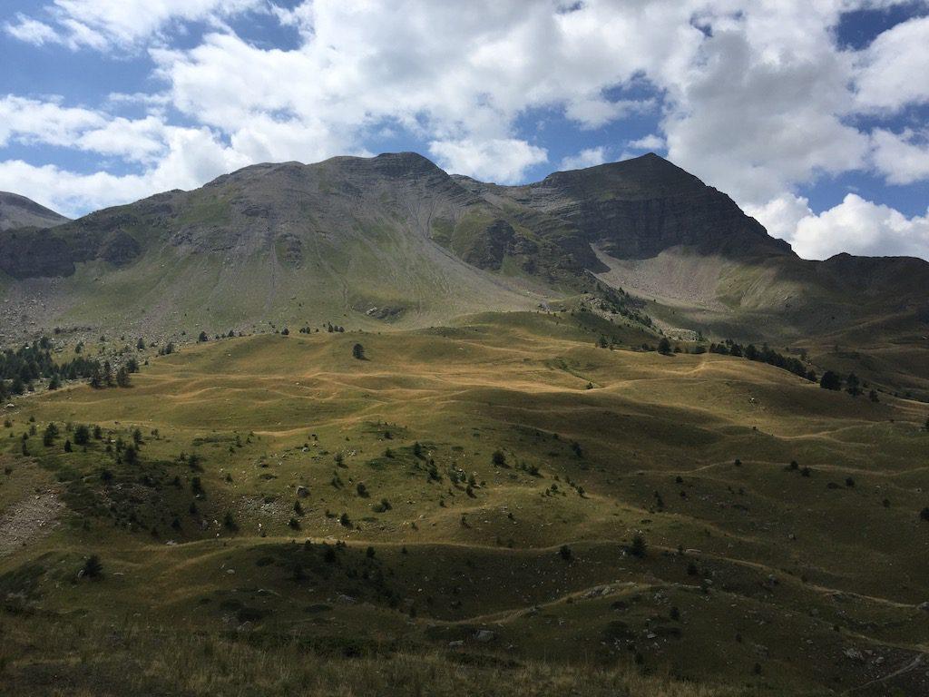 automne à la montagne Vars Alpes du Sud