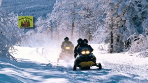 Sport d'hiver dans les Laurentides