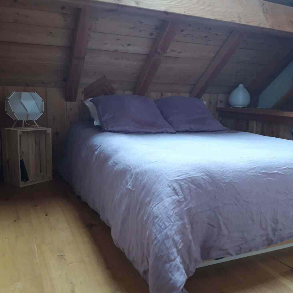 chalet Skidh . chambre milieu