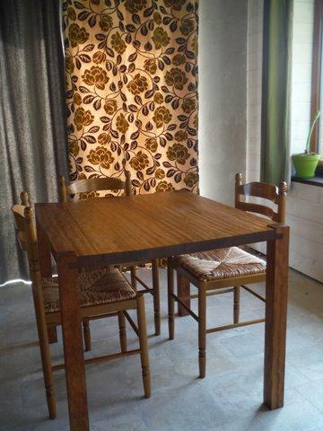 Table en iroko