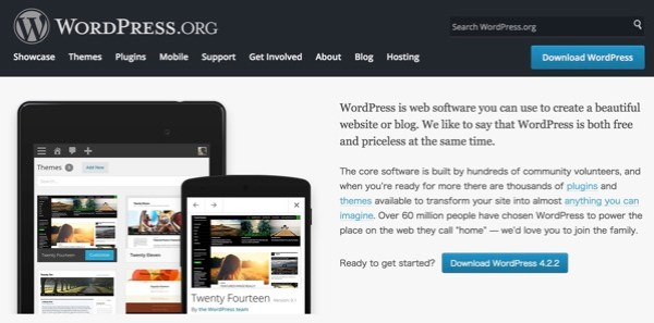 WordPress Blog Tool Publishing Platform and CMS