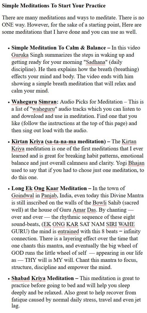 sikh meditation techniques