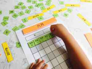Interactive Chinese Calendar {Free Printable}