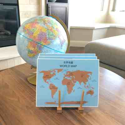 Geography Printables and Hands-On Materials for Kids