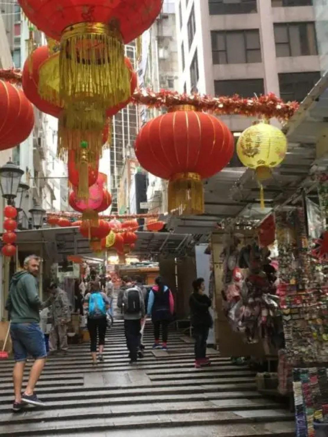 streets in hong kong
