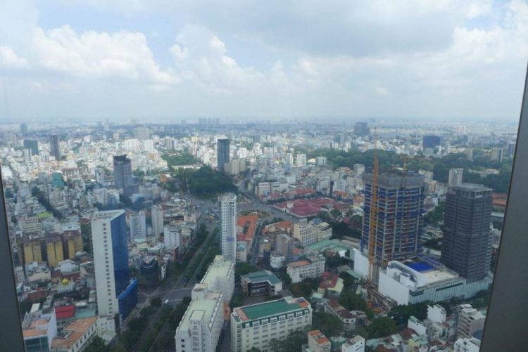 Hoc chi minh from the sky