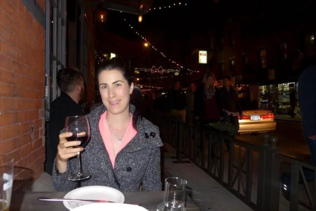 Dinner little Italy new york food