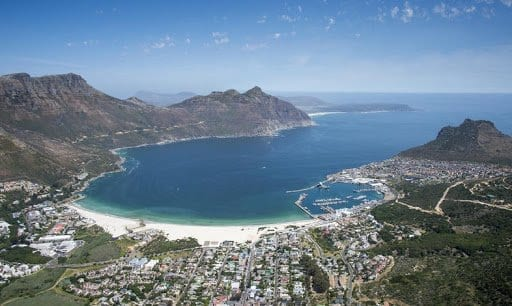 The amazing view of Hout Bay