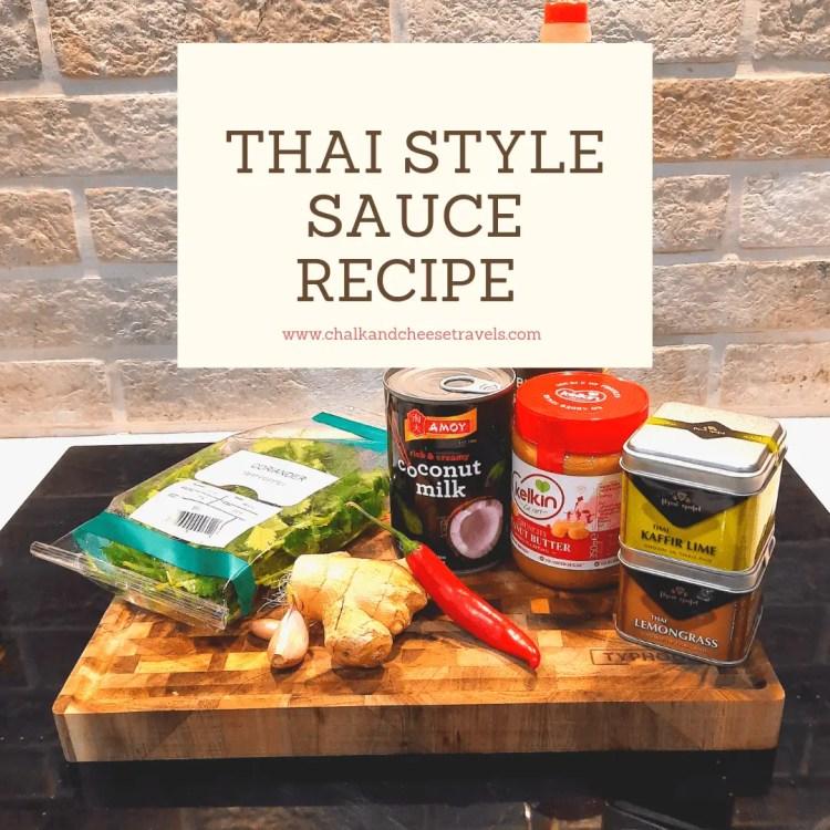Thai style sauce ingredients