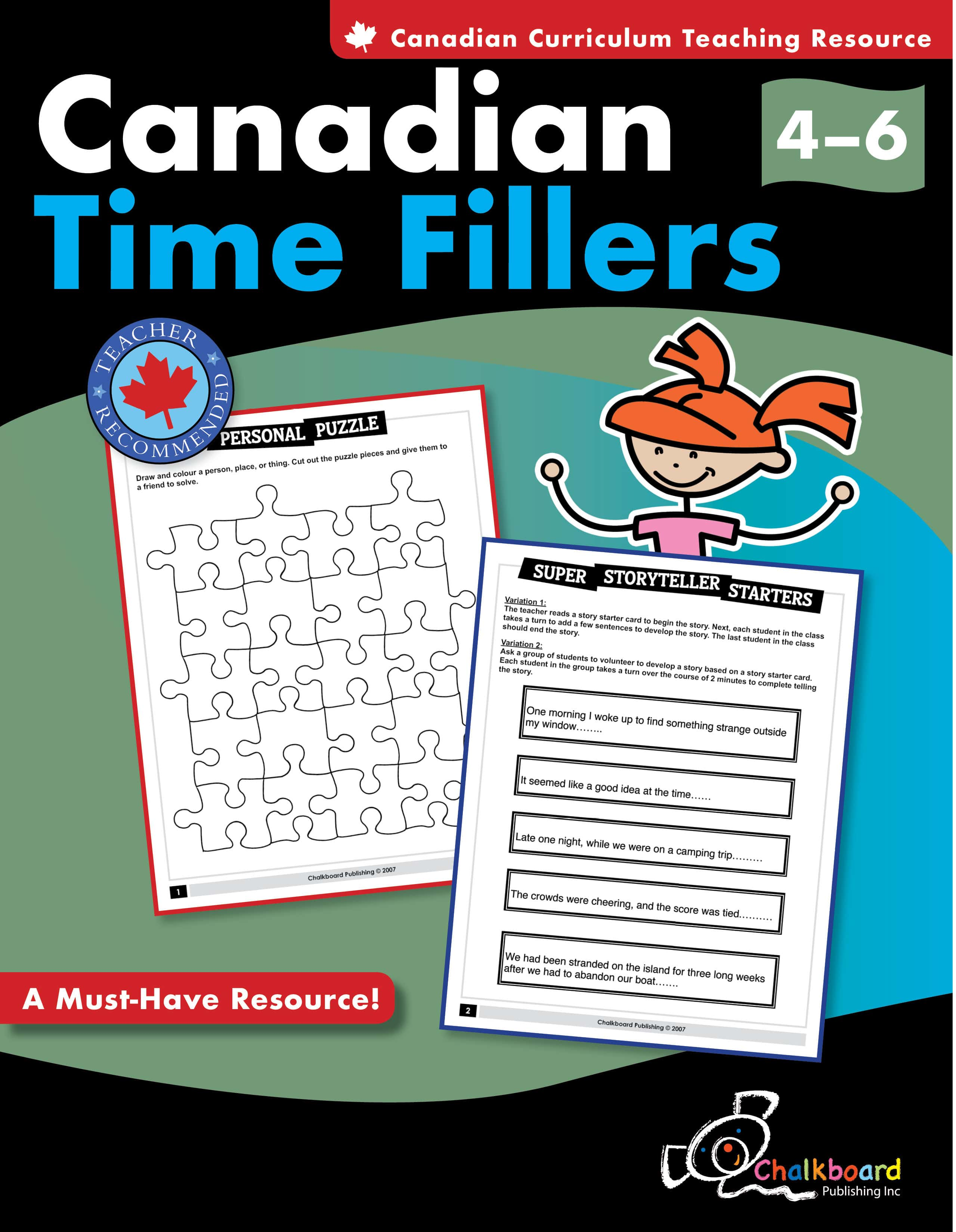 Canadian Time Fillers Grades 4 6
