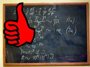 """A blackboard, for a mathematician, is an unrivalled way to communicate"" - Cédric Villani, Fields Medallist 2010"