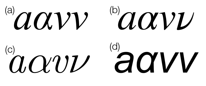 Is There A Perfect Maths Font Chalkdust