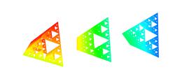 100 years with the Sierpinski triangle