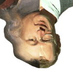 Fermat and Andrew Wiles' head morphed