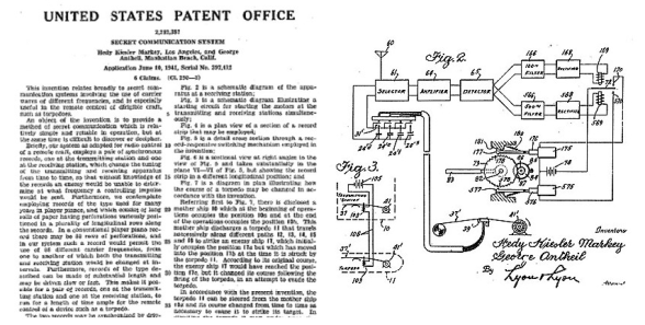 Hedy and George's patent