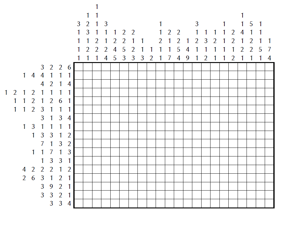 This is an image of Nonograms Printable inside giant