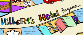 Hilbert's hotel: the board game