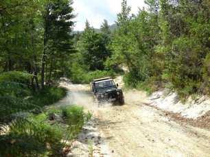 Halkidiki Jeepsafari mit dem Geländewagen
