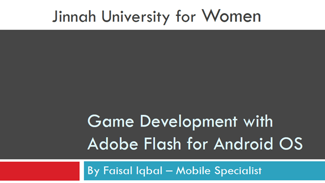 Mobile Game Development using Adobe Flash- chall3ng3r - final