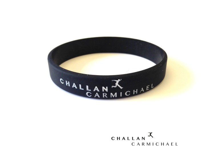 Challan Carmichael - Step By Step Wristband [Black]