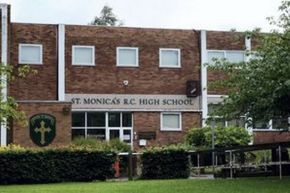 St Monica building