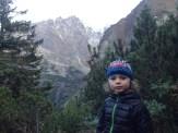 Widok z progu Doliny Ciężkiej na dolinę Kaczą.